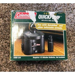 Original  Coleman Quick Pump 2 (4D) Battery Fast I